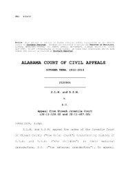 S.L.M. v. S.C. - Alabama Appellate Watch