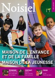 MAISON DE L'ENFANCE ET DE LA FAMILLE MAISON DE ... - Noisiel