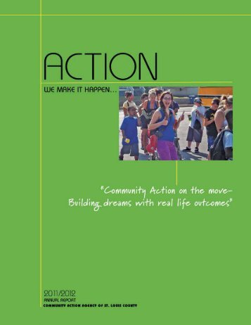 Annual Report   A - Community Action Agency of St. Louis