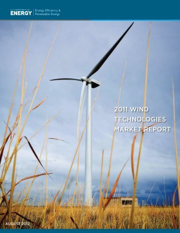 2011 wind technologies market report