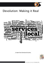 Devolution: Making it Real Jan 2013 - Birmingham City Council