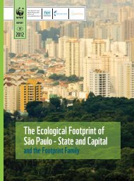 São Paulo - State and Capital The Ecological Footprint of