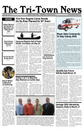 March 22, 2012 - The Tri-town news
