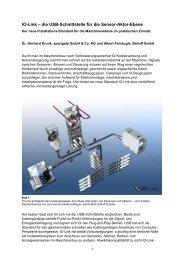 IO-Link - die USB-Schnittstelle für  - Xpertgate GmbH & Co. KG