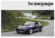 home:page Ausgabe 01 - Smart Center Esslingen