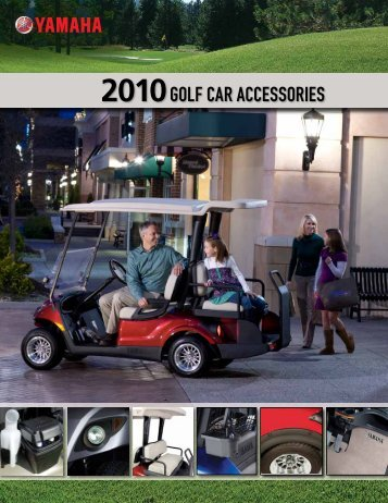 2010GOLF CAR ACCESSORIES - Yamaha Golf Cars of Brisbane