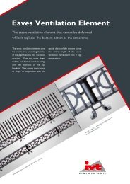 Eaves Ventilation Element - Ivt.de