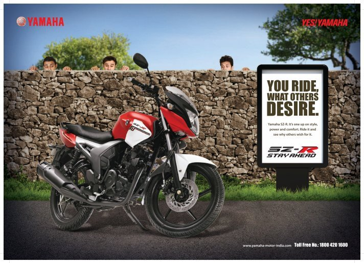 marketing strategy of india yamaha motor pvt ltd Commenting on the launch of 2018 yamaha mt-09, roy kurian, who is the senior vice president of sales and marketing at yamaha motor india sales pvt ltd said, yamaha technology is known globally.