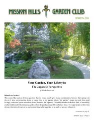 Your Garden, Your Lifestyle: The Japanese ... - Sterling Tours
