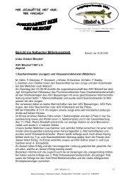 Bericht ins Nalbacher Mitteilungsblatt - ASV Bilsdorf 1961 e.V