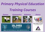 Primary-Physical-Education-Training-Courses