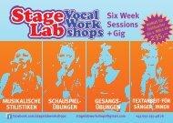 Six Week Sessions + Gig