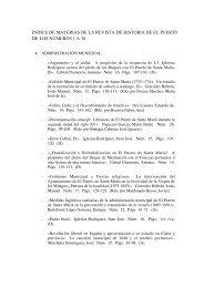 Índice de Materias (PDF) - Revista de Historia de El Puerto
