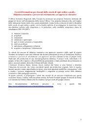 PRIMA PARTE - Loescher Editore