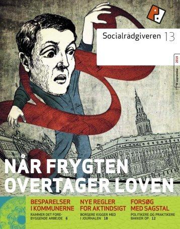 Socialrådgiveren nr. 13-2010 - Dansk Socialrådgiverforening