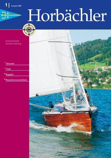 Ansegeln zur Saison 2005 - Yacht Club Zug