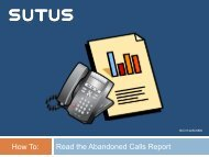 How To Read the Abandoned Calls Report