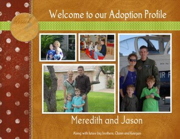 Meredith and Jason - The Adoption Alliance