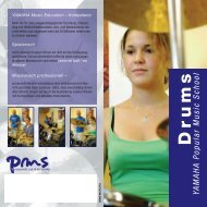 Drums YAMAHA P opular Music School