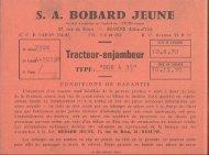 S. A. BOBARD JEUNE - Amicale des vieilles soupapes