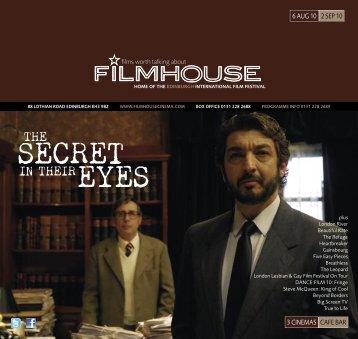 SECRET - Filmhouse Cinema Edinburgh