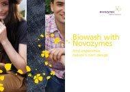 Biowash with Novozymes - Improve - Novozymes