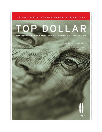 Top Dollar - Hinge Branding and Marketing for Professional ...