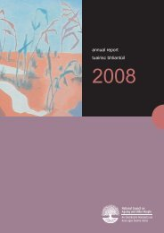 Annual Report 2008 - National Council on Ageing and Older People