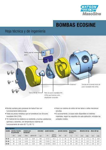 BOMBAS EcOSinE - Watson-Marlow GmbH