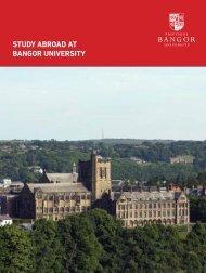Study Abroad Guide - Bangor University