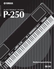 4 P-250 - Yamaha