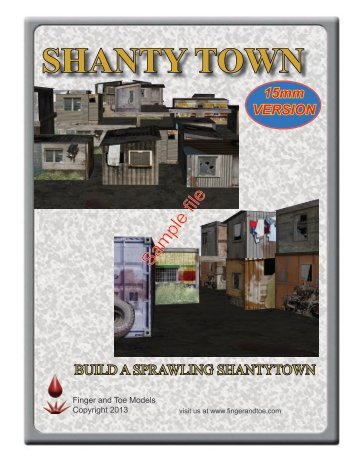 SHANTY TOWN - WarGameVault