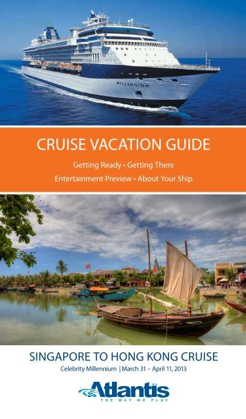 Cruise Vacation Guide - Atlantis Events