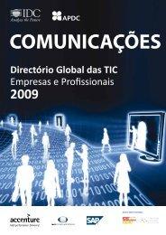 Directório Global das TIC Empresas e Profissionais - IDC Portugal