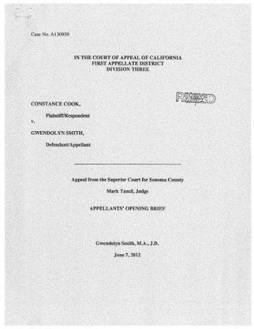 sample acceptable appellant 39 s opening brief criminal case