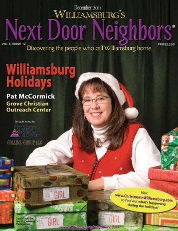 December - Williamsburg , VA Magazine
