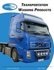 TRANSPORTATION WASHING PRODUCTS - Eaco Chem Inc.