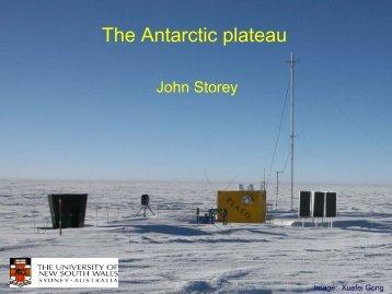 Astronomy & Astrophysics from Antarctica