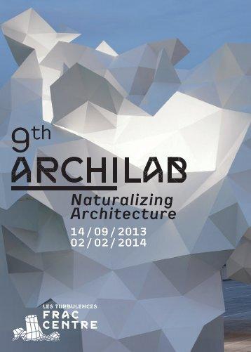 ArchiLab 2013 - FRAC Centre