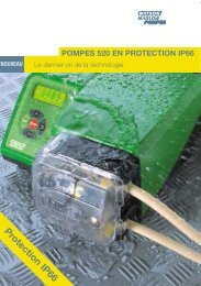 Protection IP66 - Watson-Marlow GmbH