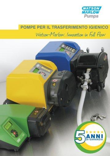 POMPE PER IL TRASFERIMENTO IGIENICO - Watson-Marlow GmbH