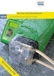 Bescherming IP66 - Watson-Marlow GmbH