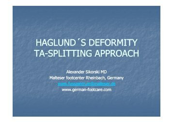 Haglund_Deformity - Yorkshire Joint Replacement