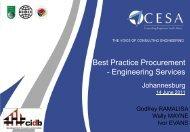 Best Practice Procurement - Engineering Services - Cesa