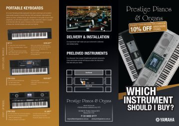 10% Off - Yamaha Music School