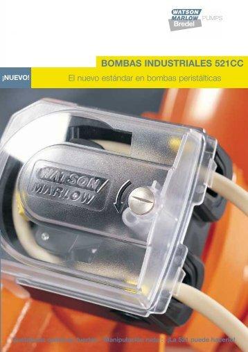 BOMBAS INDUSTRIALES 521CC - Watson-Marlow GmbH