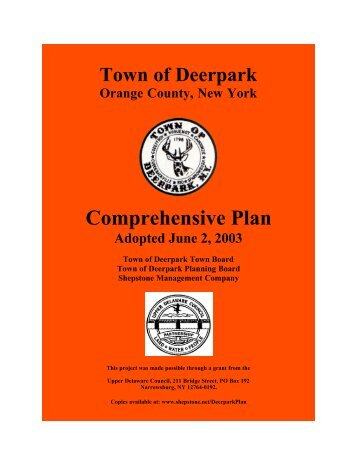 Comprehensive Plan - Shepstone Management Company