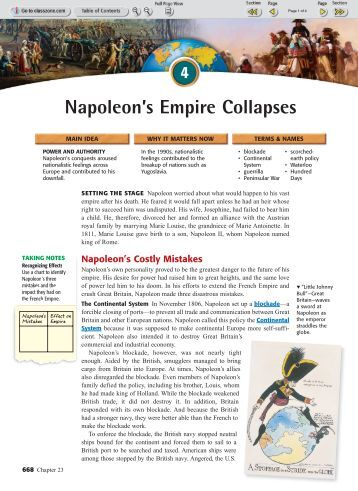 napoleons collapse The first french empire (french: empire français note 1) was the empire of napoleon bonaparte of france and the dominant power in much of continental europe at the beginning of the 19th century.