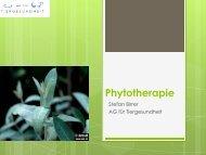 Phytotherapie - AG für Tiergesundheit