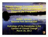 Climate Change Considerations for Surface Water and Groundwater ...